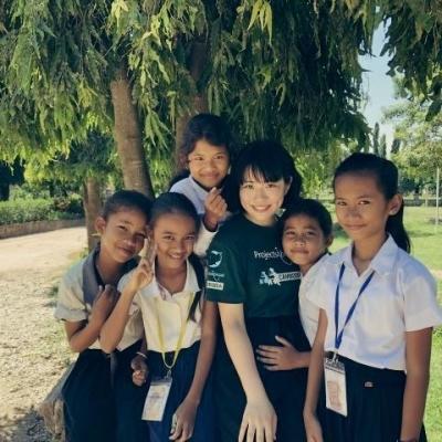 カンボジアでチャイルドケア&地域奉仕活動 石盛莉子